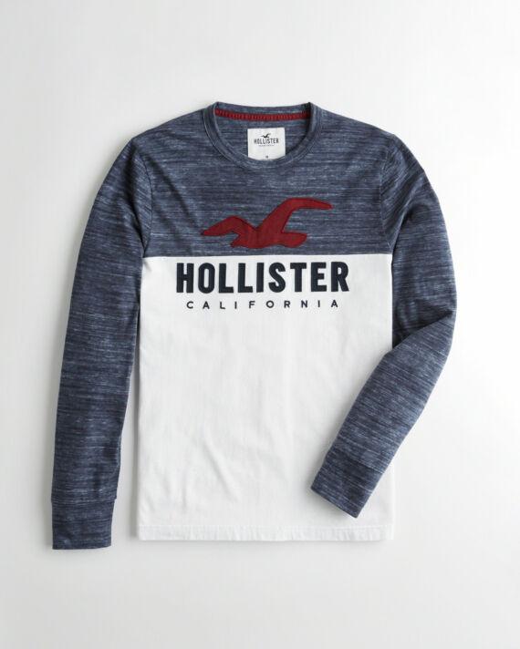 Hollister hosszú ujjú felső